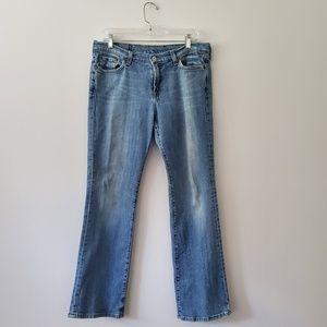 Lucky Brand bootleg jeans 14/32